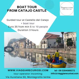 Catajo Boat tour