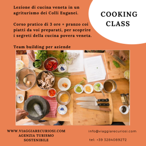 Cooking class team building