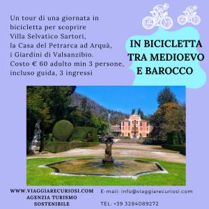 In bicicletta tra Medioevo e Barocco
